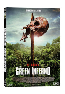 The Green Inferno (Director's Cut) (Limited Mediabook, Blu-ray+DVD, Cover E) (2013) [FSK 18] [Blu-ray]