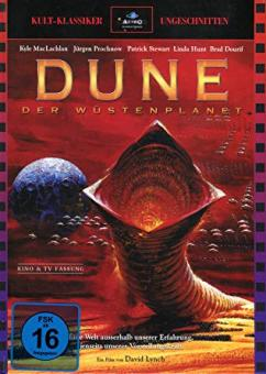 Dune - Der Wüstenplanet (Limited Mediabook, 2 Discs, Cover A) (1984) [Blu-ray]