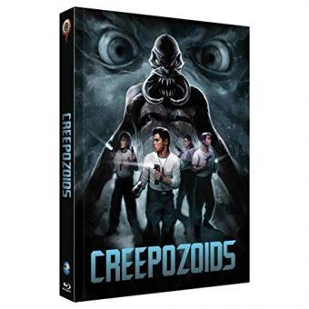 Creepozoids - Angriff der Mutanten (Limited Mediabook, Blu-ray+DVD, Cover C) (1987) [FSK 18] [Blu-ray]