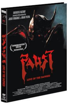 Faust: Love of the Damned (Limited Mediabook, Blu-ray+DVD, Cover B) (2000) [FSK 18] [Blu-ray]