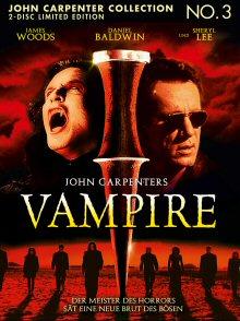 John Carpenter's Vampire (Limited Uncut Mediabook, Blu-ray+DVD, Cover B) (1998) [FSK 18] [Blu-ray]