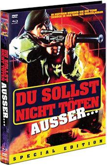 Du sollst nicht töten... außer (Thou Shalt Not Kill... Except) (Limited Mediabook, Blu-ray+DVD, Cover A) (1985) [FSK 18] [Blu-ray]