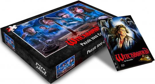 Witchboard...die Hexenfalle (Limited Puzzle Edition, Mediabook, Blu-ray+DVD, Cover B) (1986) [Blu-ray]