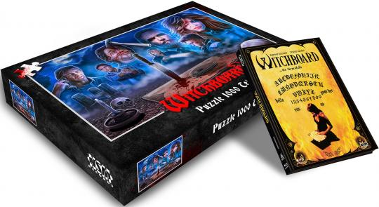 Witchboard...die Hexenfalle (Limited Puzzle Edition, Mediabook, Blu-ray+DVD, Cover D) (1986) [Blu-ray]