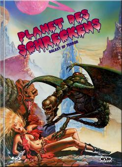 Galaxy of Terror - Planet des Schreckens (Limited Mediabook, Blu-ray+DVD, Cover A) (1981) [Blu-ray]