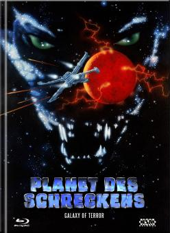 Galaxy of Terror - Planet des Schreckens (Limited Mediabook, Blu-ray+DVD, Cover D) (1981) [Blu-ray]