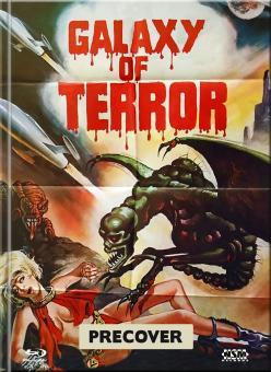 Galaxy of Terror - Planet des Schreckens (Limited Mediabook, Blu-ray+DVD, Cover E) (1981) [Blu-ray]