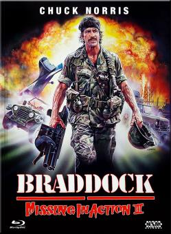 Missing in Action III - Braddock (Limited Mediabook, Blu-ray+DVD, Cover A) (1988) [FSK 18] [Blu-ray]