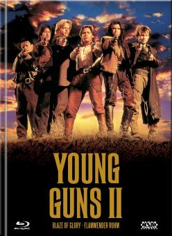 Young Guns 2 (Limited Mediabook, Blu-ray+DVD, Cover A) (1990) [Blu-ray]