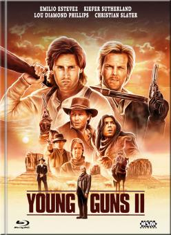 Young Guns 2 (Limited Mediabook, Blu-ray+DVD, Cover D) (1990) [Blu-ray]