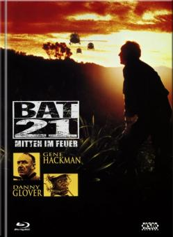 Bat 21 - Mitten im Feuer (Limited Mediabook, Blu-ray+DVD, Cover B) (1988) [Blu-ray]