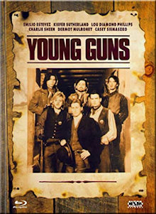 Young Guns (Limited Mediabook, Blu-ray+DVD, Cover D)  (1988) [Blu-ray]