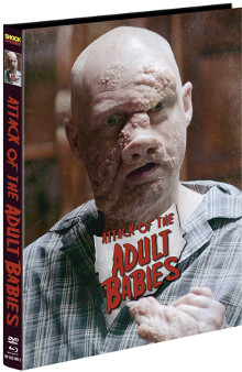 Attack of the Adult Babies (Limited Mediabook, Blu-ray+DVD, Cover C) (2017) [FSK 18] [Blu-ray]