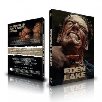 Eden Lake (Uncut, Limited Mediabook, Blu-ray+DVD, Cover B) (2008) [FSK 18] [Blu-ray]