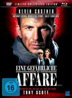 Eine gefährliche Affäre - Revenge (Limited Collectors Edition im Mediabook, Blu-ray+DVD) (1990) [Blu-ray]