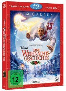 Eine Weihnachtsgeschichte (Blu-ray 3D + Blu-ray + Digital Copy) (2009) [3D Blu-ray]