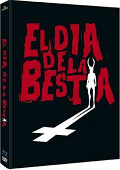El dia de la bestia (3 Disc Limited Mediabook, Blu-ray+DVD, Cover A) (1995) [Blu-ray] [Gebraucht - Zustand (Sehr Gut)]