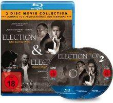 Election 1 + Election 2 (2 Disc Double Feature) [FSK 18] [Blu-ray]
