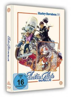 Electra Glide in Blue - Harley Davidson 344 (Limited Mediabook) (1973) [Blu-ray]