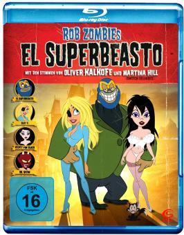 El Superbeasto (2009) [Blu-ray]