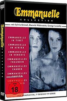 Emmanuelle Collection (7 Filme auf 3 DVDs) [FSK 18]