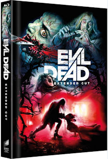 Evil Dead (Limited Mediabook, Extended Cut, 2 Discs, Cover D) (2013) [FSK 18] [Blu-ray]