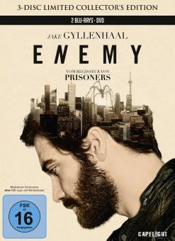 Enemy (Limited Mediabook Edition, Blu-ray+DVD) (2013) [Blu-ray]