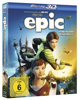 Epic - Verborgenes Königreich (+ Blu-ray+DVD) (2013) [3D Blu-ray] [Gebraucht - Zustand (Sehr Gut)]