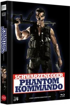Phantom Kommando (Limited Mediabook, Blu-ray+DVD, Cover E) (1985) [FSK 18] [Blu-Ray]