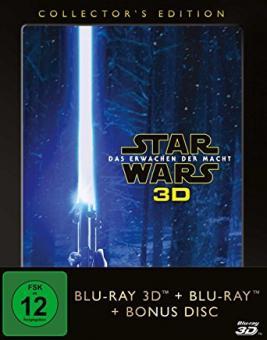 Star Wars: Das Erwachen der Macht (Collector's Edition, 3D Blu-ray+Blu-ray, inkl. Bonusdisc) (2015) [Blu-ray]
