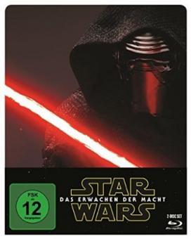 Star Wars: Das Erwachen der Macht (inkl. Bonusdisc) (Limited Steelbook) (2015) [Blu-ray]