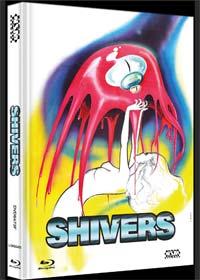 Shivers - Der Parasitenmörder (Limited Mediabook, Blu-ray+DVD, Cover F) (1975)