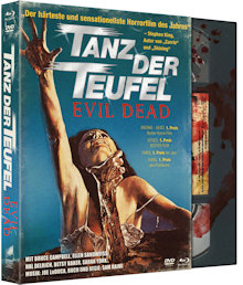 Tanz der Teufel (4 Disc Limited Digipak, Blu-ray+DVD) (1982) [FSK 18] [Blu-ray] [Gebraucht - Zustand (Sehr Gut)]