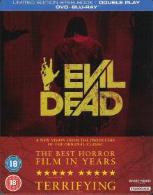 Evil Dead (Limited Steelbook, 2 Discs) (Uncut) (2013) [FSK 18] [UK Import] [Blu-ray]