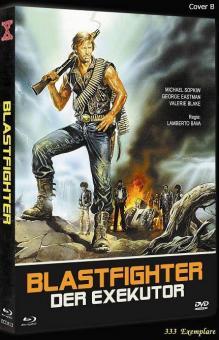 Blastfighter - Der Exekutor (Limited Mediabook, Blu-ray+DVD, Cover B) (1984) [FSK 18] [Blu-ray]