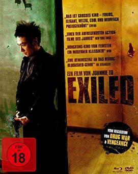 Exiled (Limited Mediabook, Blu-ray+DVD) (2006) [FSK 18] [Blu-ray]
