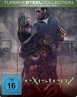 eXistenZ (Limited Steelbook) (1999) [Blu-ray]