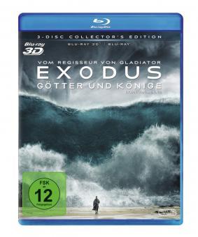 Exodus - Götter und Könige (3 Disc Collector's Edition, 3D Blu-ray + 2 Blu-ray's) (2014) [3D Blu-ray]