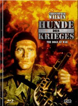 Die Hunde des Krieges (Limited Mediabook, Blu-ray+DVD, Cover C) (1980) [Blu-ray]