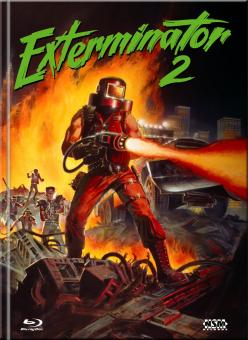 Exterminator 2 (Limited Mediabook, Blu-ray+DVD, Cover A) (1984) [FSK 18] [Blu-ray]