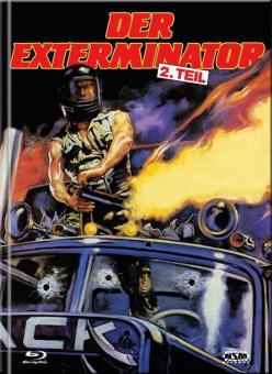 Exterminator 2 (Limited Mediabook, Blu-ray+DVD, Cover B) (1984) [FSK 18] [Blu-ray]