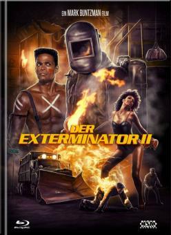 Exterminator 2 (Limited Mediabook, Blu-ray+DVD, Cover C) (1984) [FSK 18] [Blu-ray]