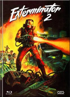 Exterminator 2 (Limited Mediabook, Blu-ray+DVD, Cover D) (1984) [FSK 18] [Blu-ray]
