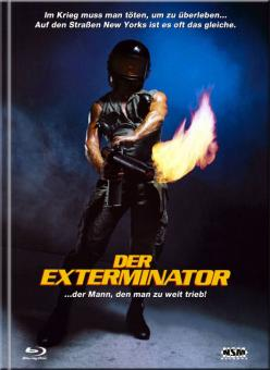 Der Exterminator (Limited Mediabook, Blu-ray+DVD, Cover A, Remastered) (1980) [FSK 18] [Blu-ray]