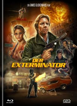 Der Exterminator (Limited Mediabook, Blu-ray+DVD, Cover B, Remastered) (1980) [FSK 18] [Blu-ray]
