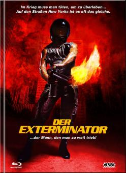 Der Exterminator (Limited Mediabook, Blu-ray+DVD, Cover D, Remastered) (1980) [FSK 18] [Blu-ray]