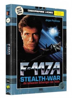 F-117 A - Stealth-War (Limited Mediabook, VHS Edition, Blu-ray+DVD) (1993) [FSK 18] [Blu-ray]