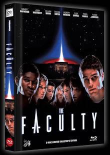 Faculty - Trau keinem Lehrer (Limited Mediabook, Blu-ray+DVD, Cover B) (1998) [Blu-ray]