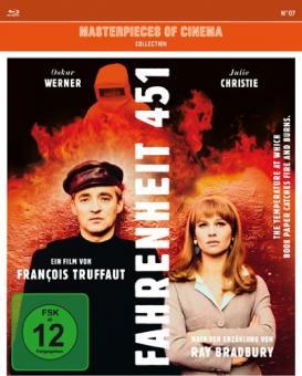 Fahrenheit 451 (Mediabook) (1966) [Blu-ray]