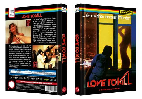 Maniac II - Love To Kill (Limited Mediabook, Blu-ray+DVD, Cover B) (1982) [FSK 18] [Blu-ray]